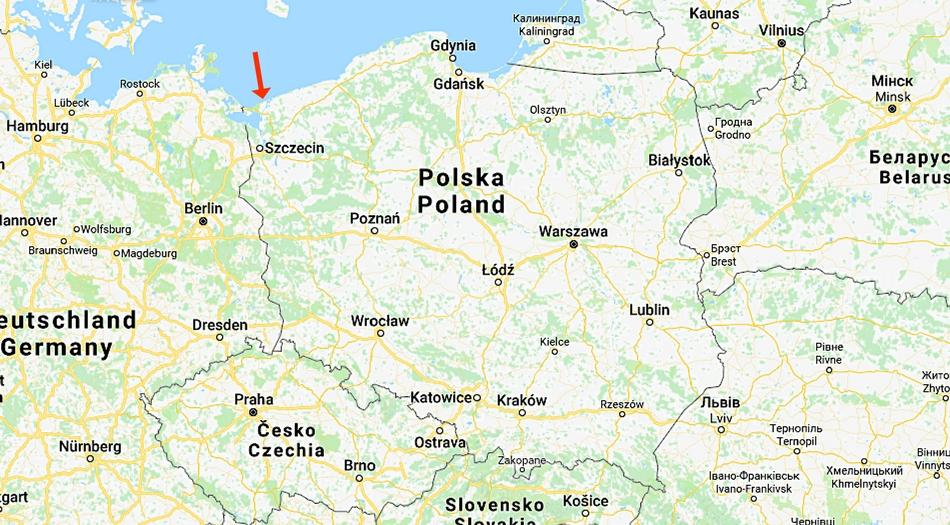 Polen, Dziwnow