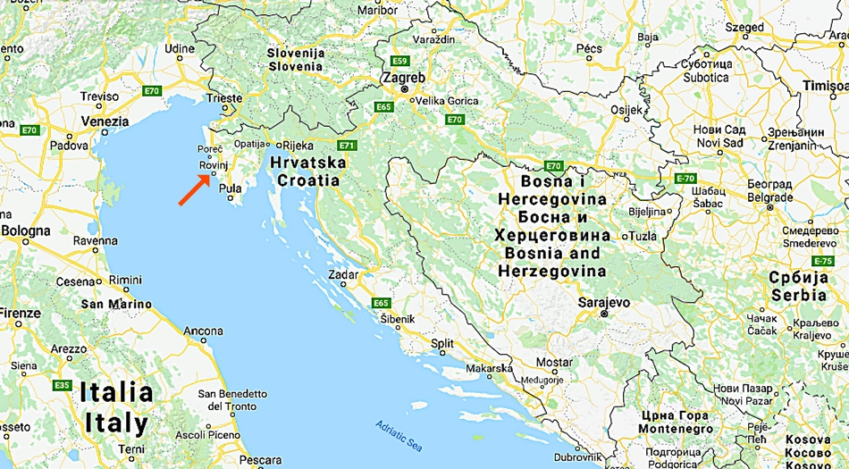 Kroatien, Rovinj