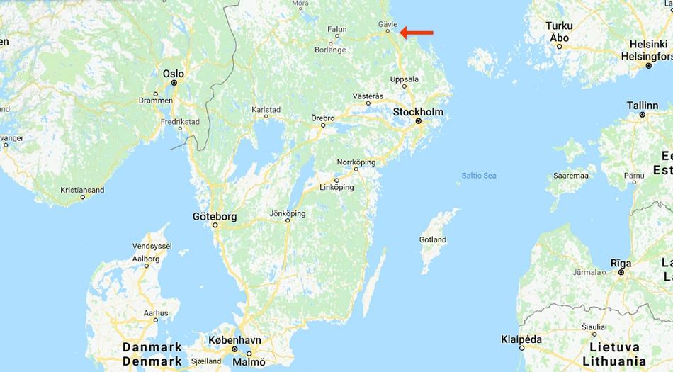 Sverige, Rullsands havsbad