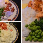 Mer fisk och grönsaker på tallriken