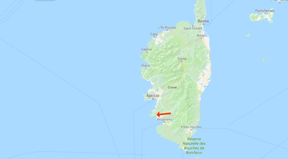 Korsika, Cupabia