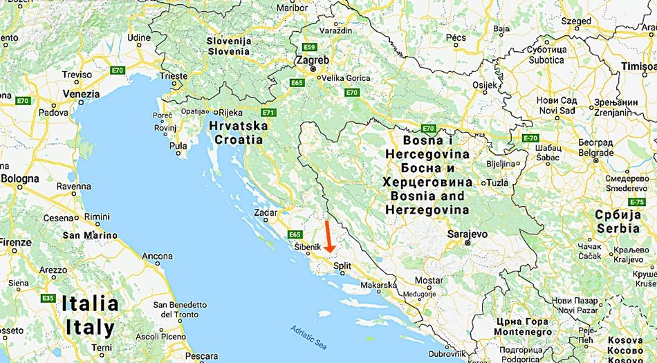 Kroatien, Krka Nationalpark