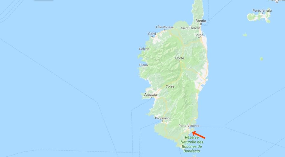 Korsika, Plage de Palombaggia