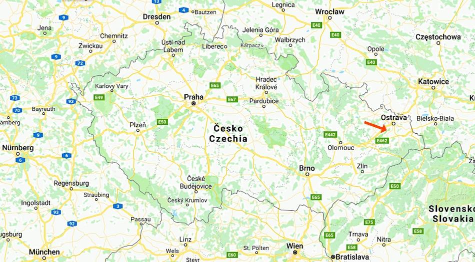 Tjeckien, Stramberk