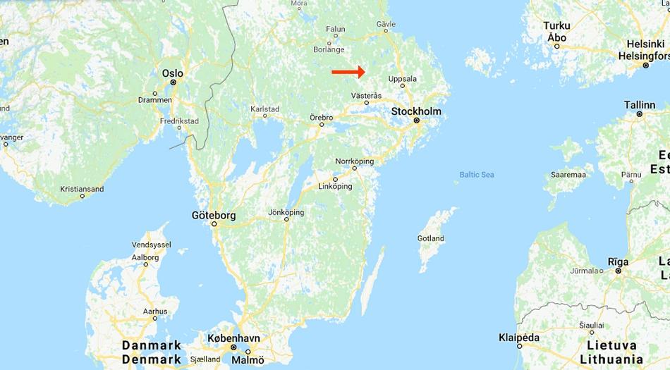 Sverige, Sala silvergruva