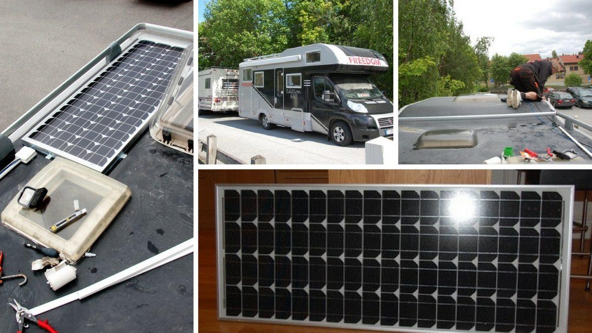 Solceller till husbil