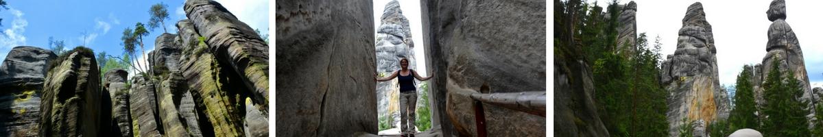 Tjeckien, Adrspach Rocks