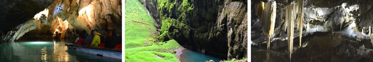 Tjeckien, Punka caves