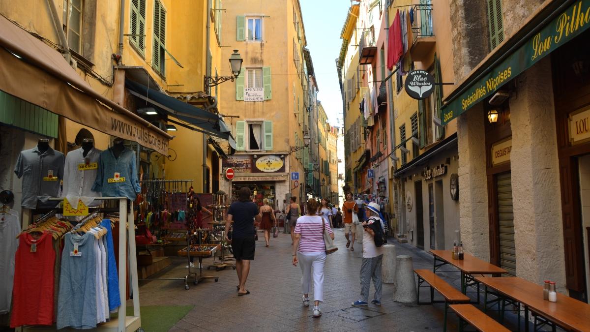 Gamla stan i Nice