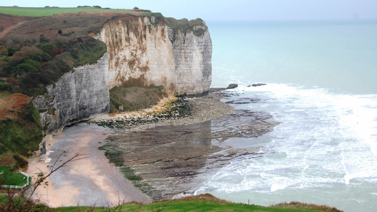 Normandie i Frankrike - det närmaste vi kom England under Europaresan 2015