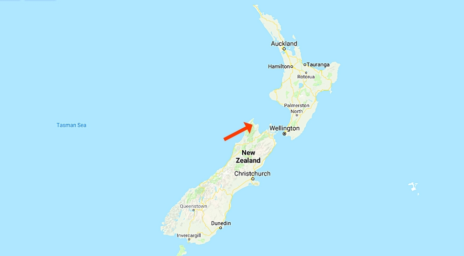 Nya Zeeland, Abel Tasman