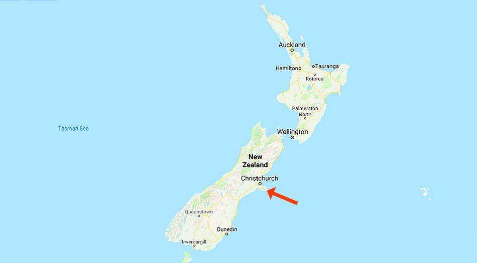 Nya Zeeland, Akaroa