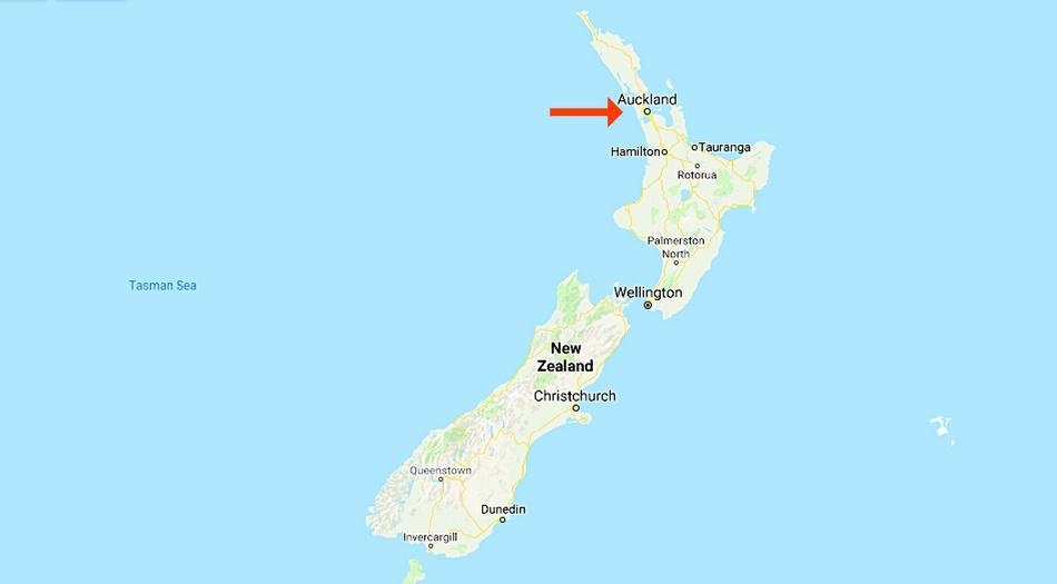 Nya Zeeland, Auckland