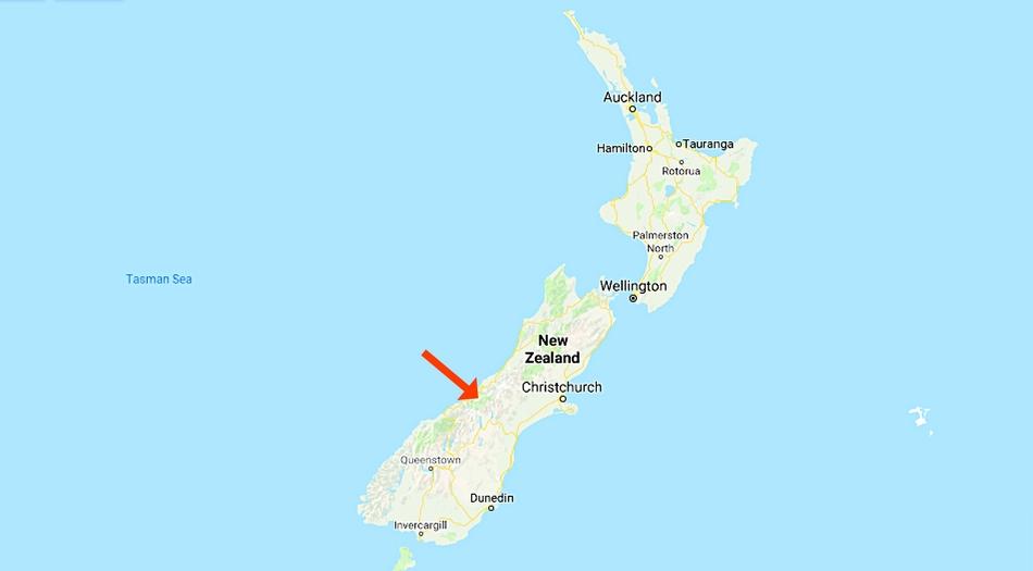 Nya Zeeland, Mount Cook