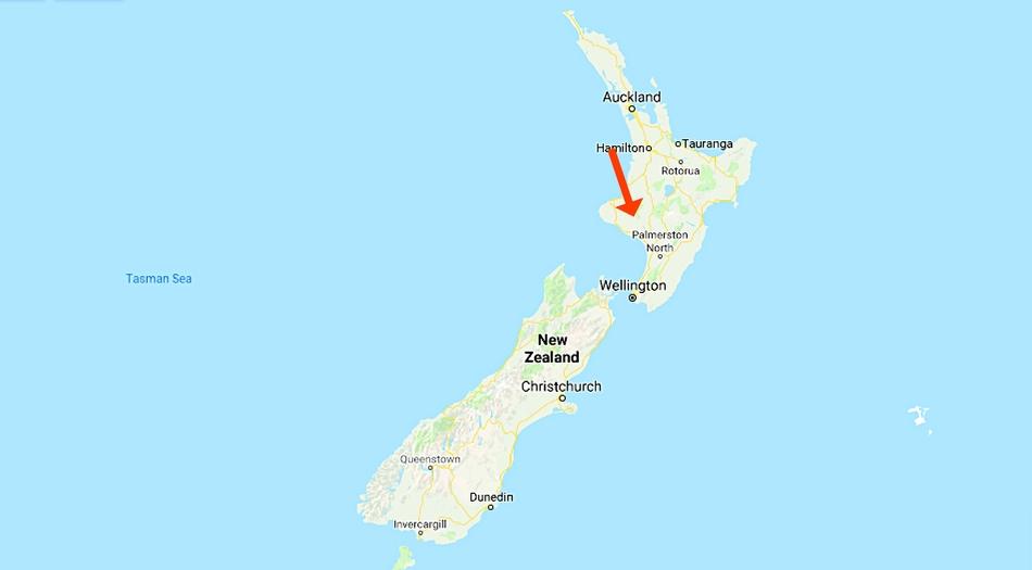 Nya Zeeland, Pipiriki