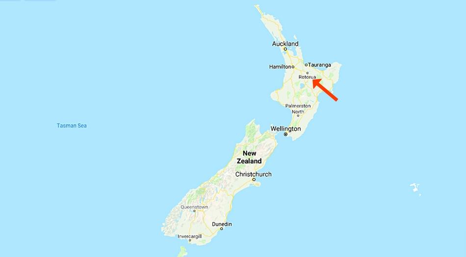 Nya Zeeland, Rotorua