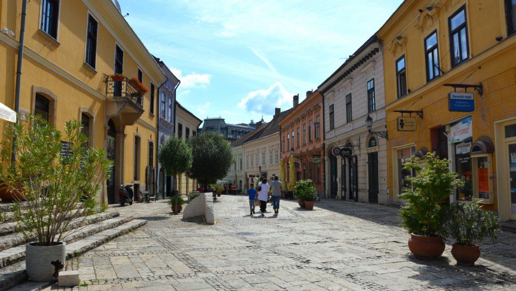 Pécs i södra Ungern