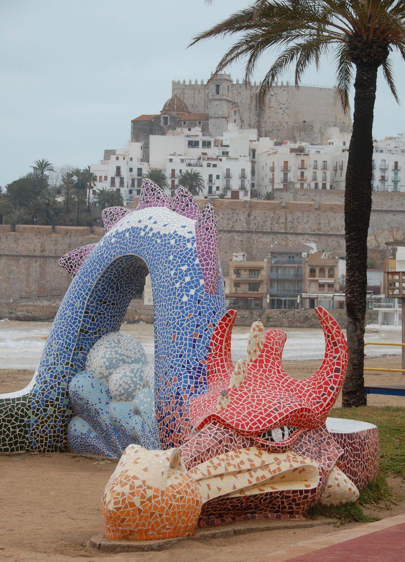 Peniscola Spanien
