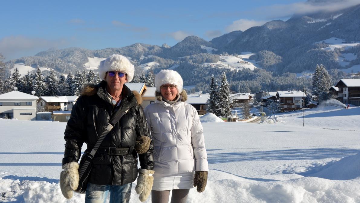 Skidresa till Österrike