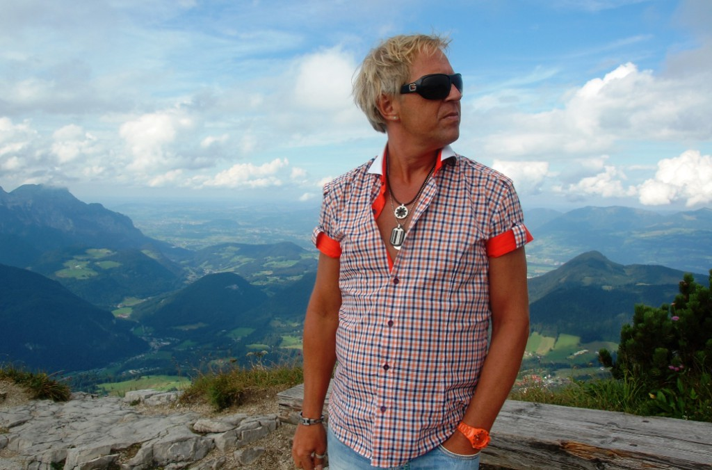Peter at Eagles' nest in Germany 2011