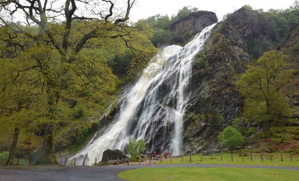 Irlands högsta vattenfall!