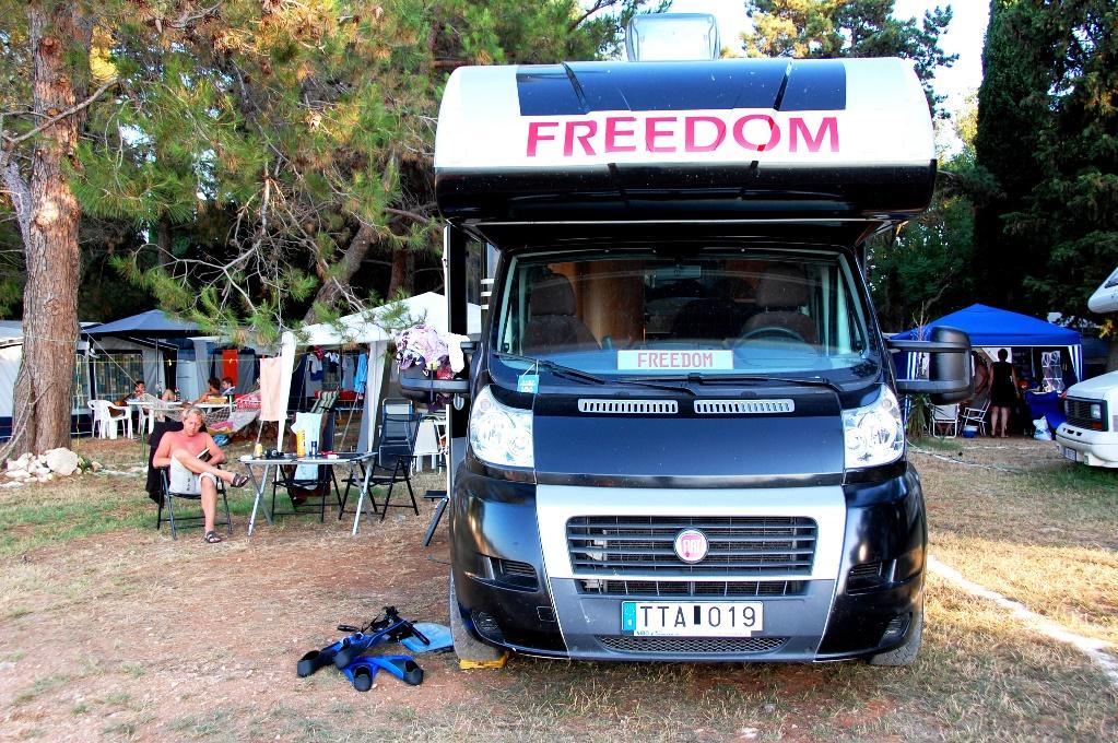 Campingar och ställplatser i Kroatien