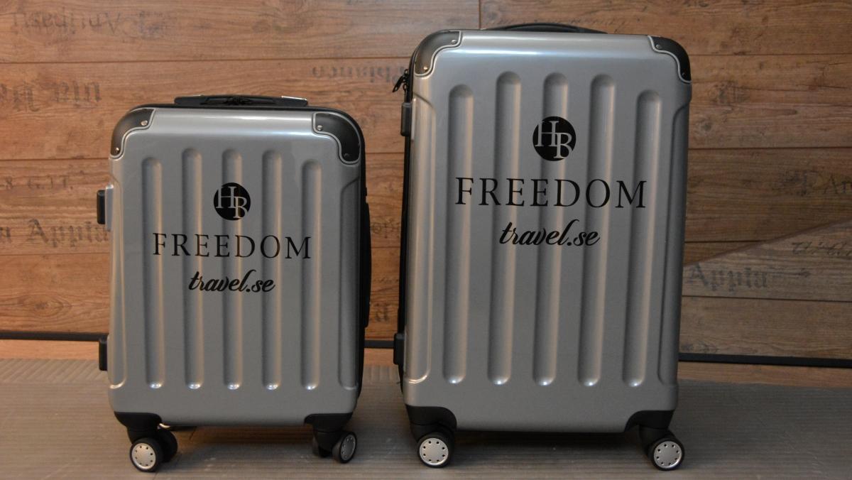 Resväskor med tryck
