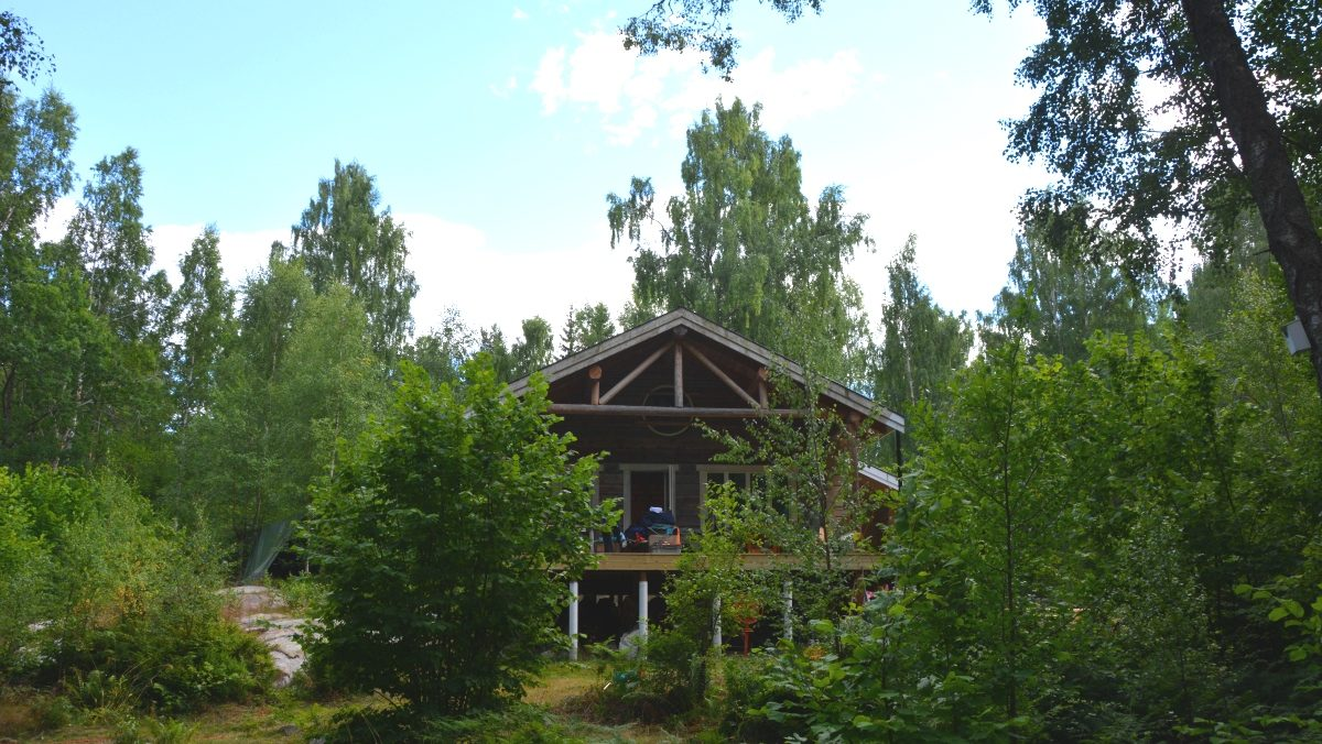 Ringsö bygga timmerhus