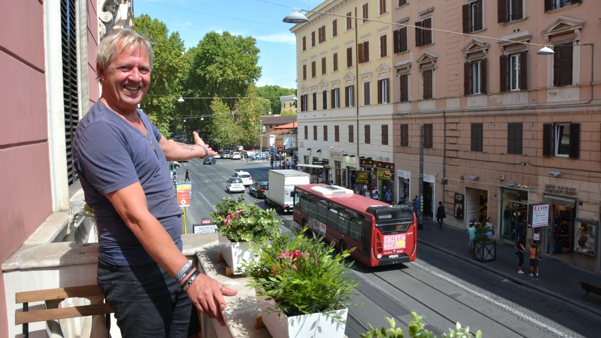 Mysigt hotell i Rom