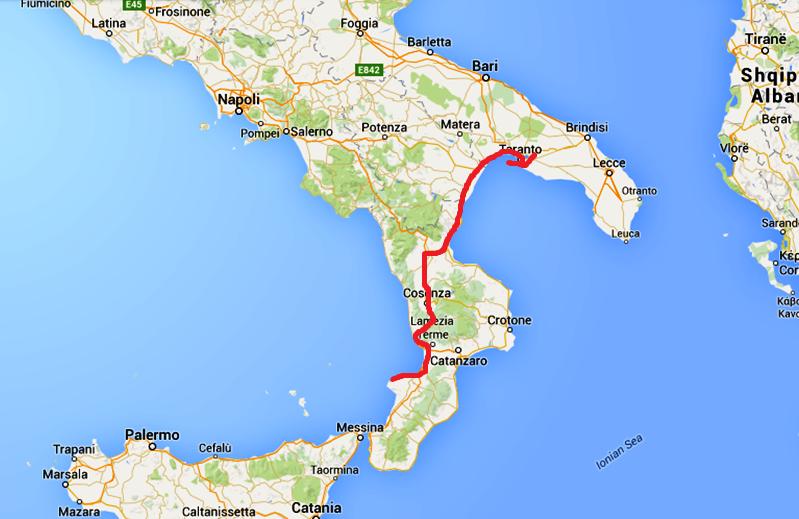 södra italien