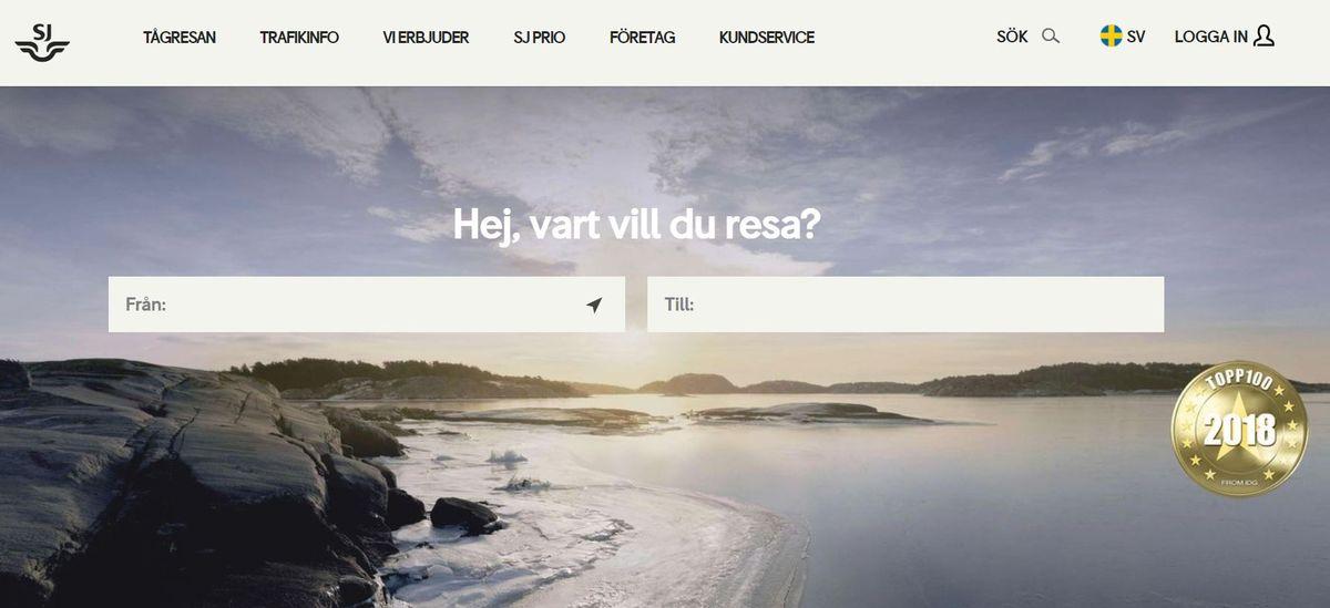 sj webbsida