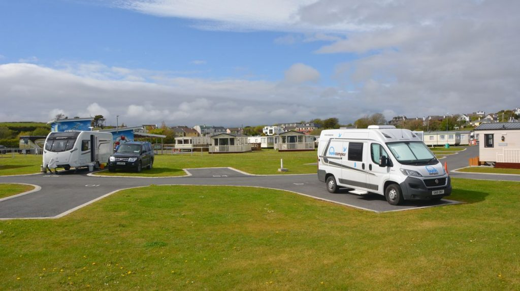 Salthill camping Galway