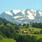 Med tåg genom Schweiz