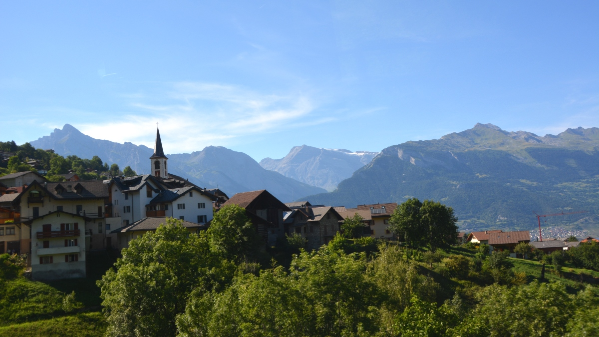 Schweiz landskap