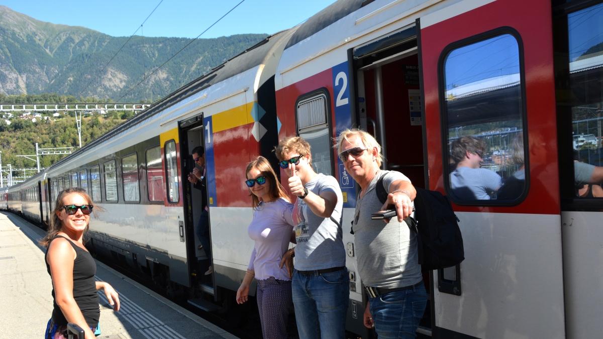 Schweiz tåg