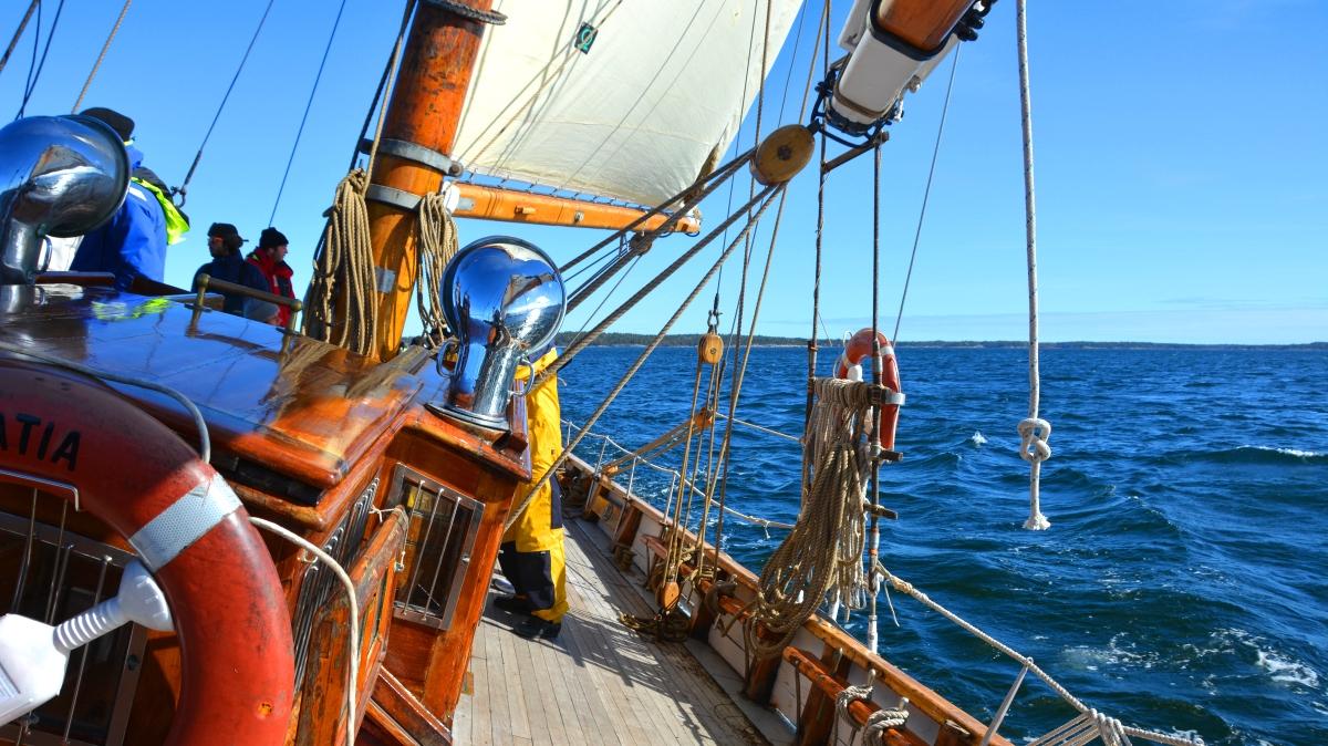 Segelbåt Gratia