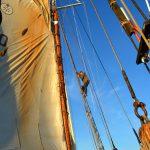 Påmönstring på segelfartyget Gratia