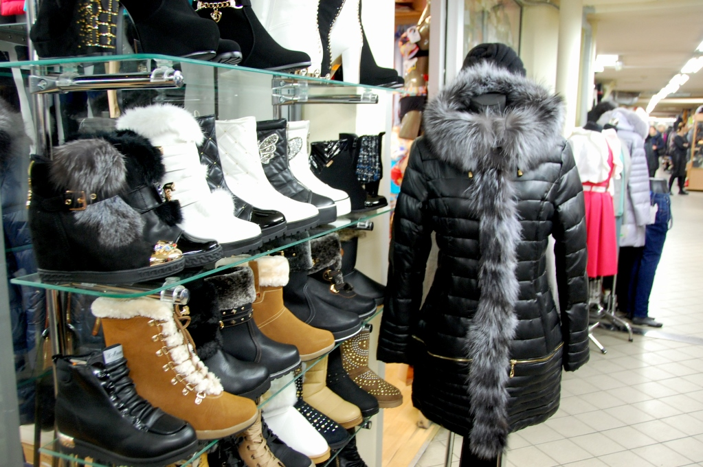 Shopping i Riga i Lettland: här hittar du jackor, stövlar och handväskor