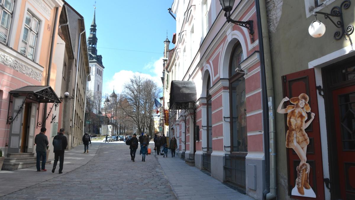 En dag i Tallinn, Estland
