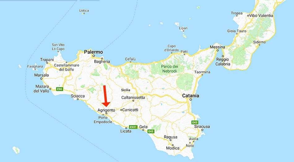 Sicilien, Agrigento