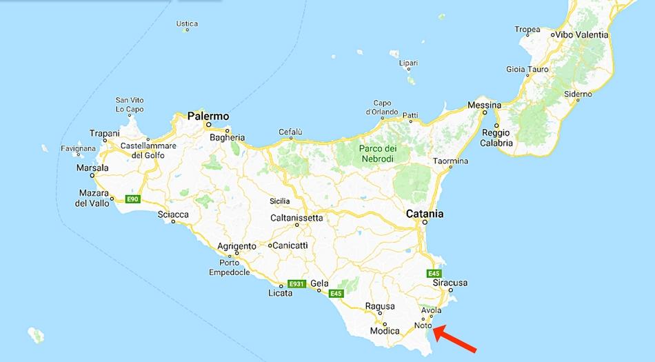 Sicilien, Noto