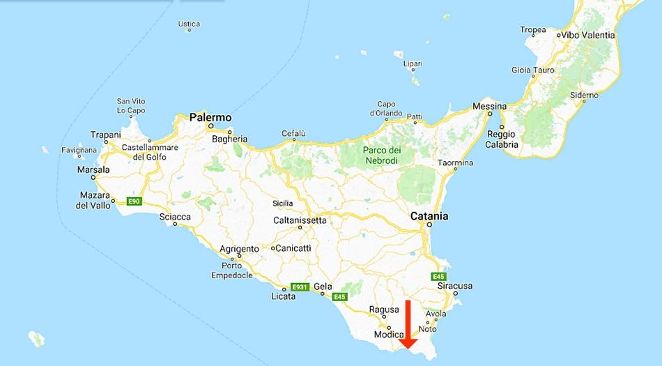Sicilien, Pozzallo