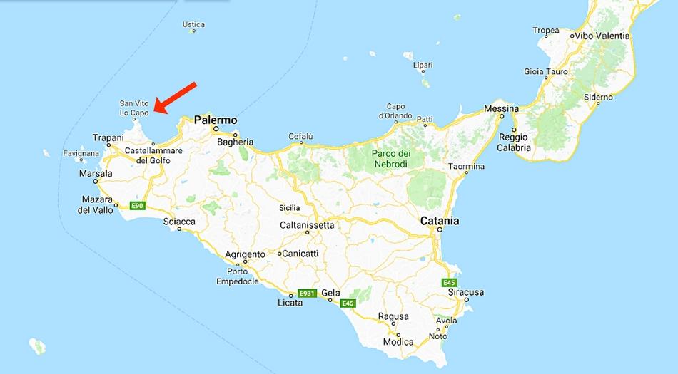 Sicilien, San Vito Lo Capo