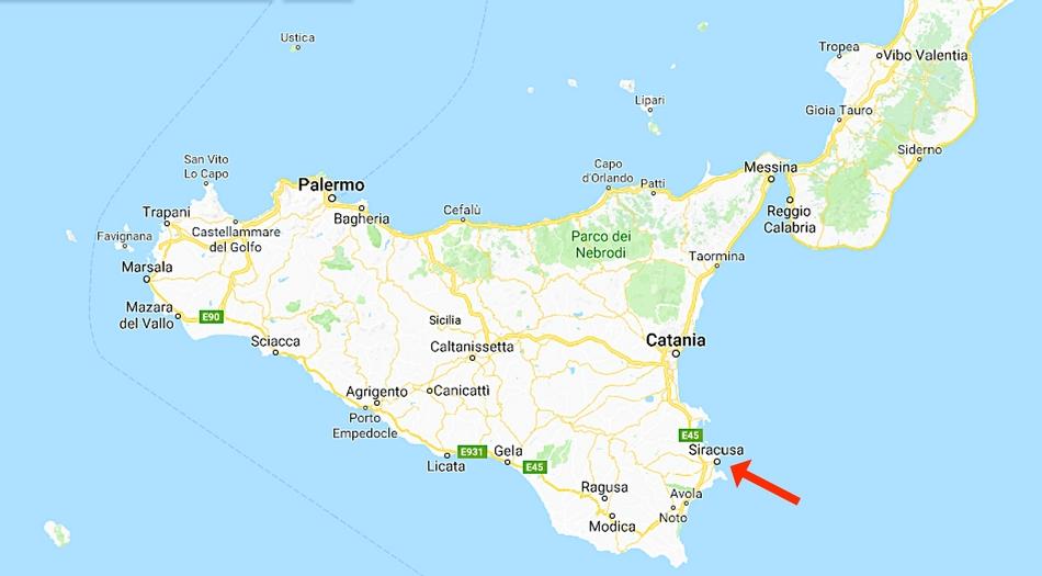 Sicilien, Syrakusa