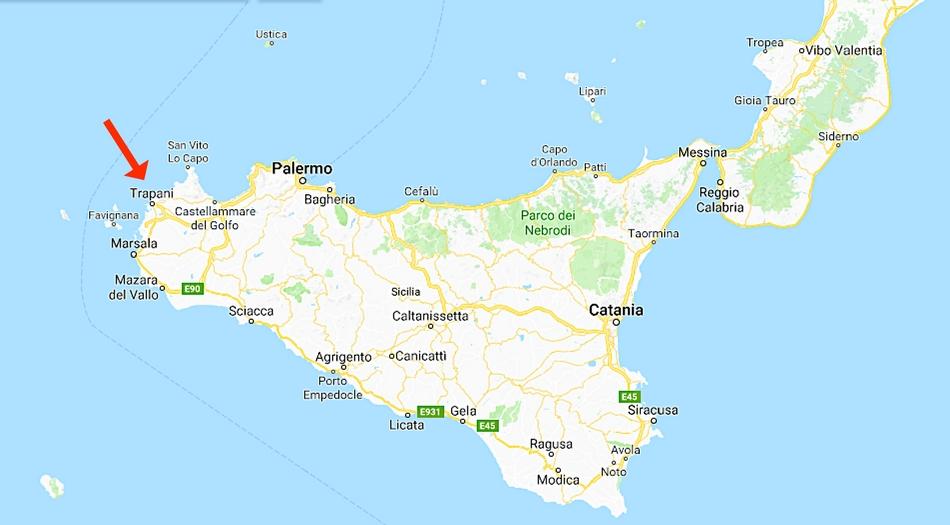 Sicilien, Trapani