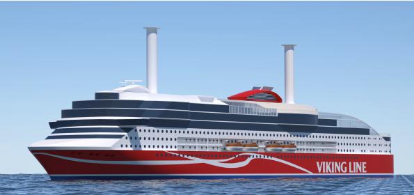 Ny Vikingline båt