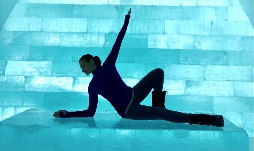Yoga icehotel