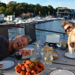 Spontan skaldjursfest