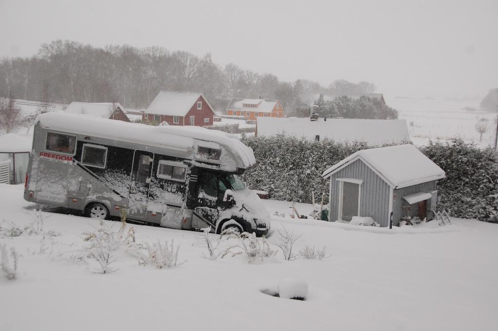 Såhär ser det ut i nordvästra Skåne just nu...