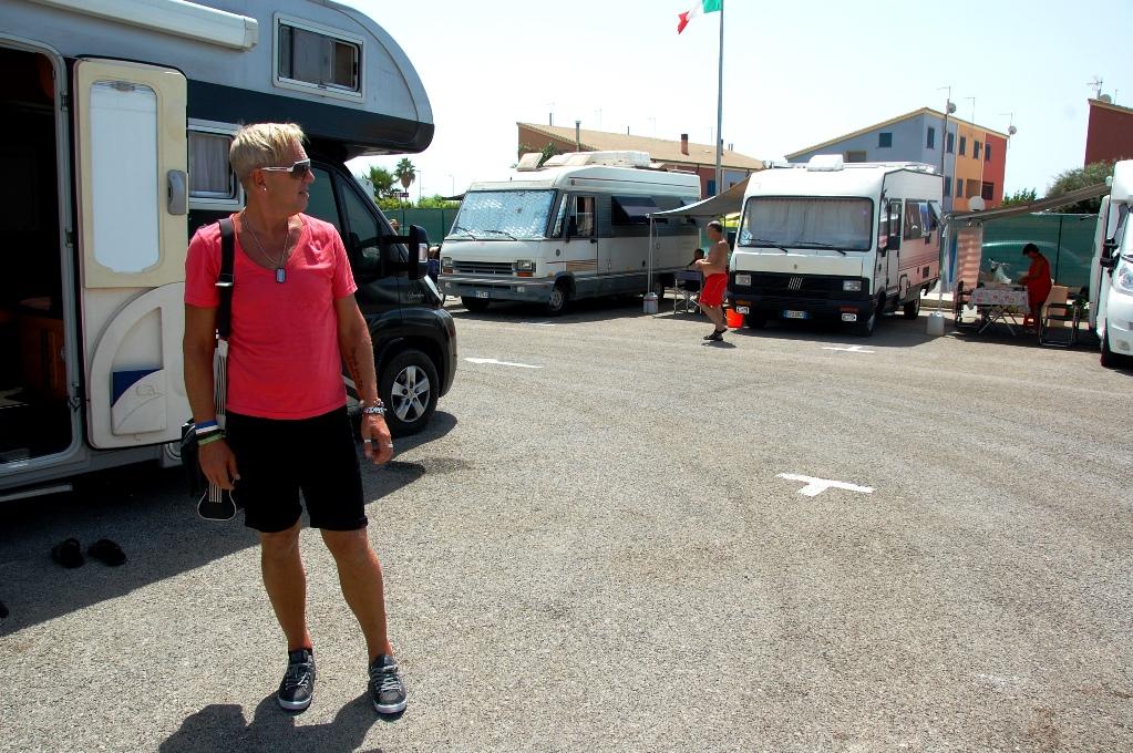 Ställplatser på Sicilien: Marina di Ragusa